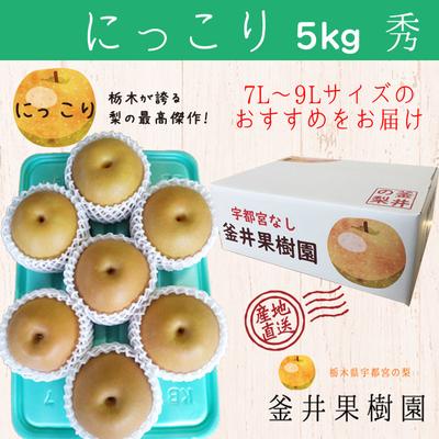 にっこり梨【5kg】秀