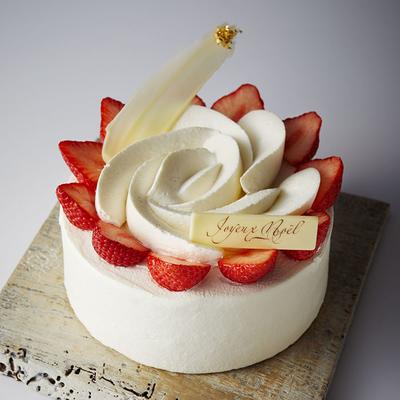 【Xmas店頭受取商品】定番!いちごのケーキ「フルール(直径25cm)」