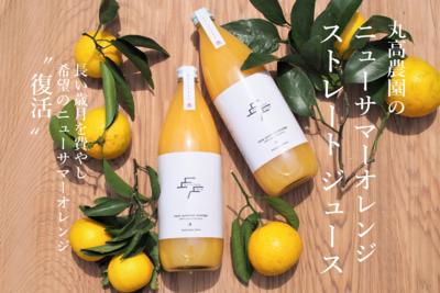 丸高農園のニューサマーオレンジストレートジュース 1本