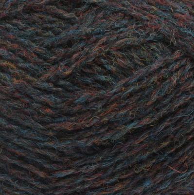 「働くセーター」掲載 紺と赤茶のミックス(#236)