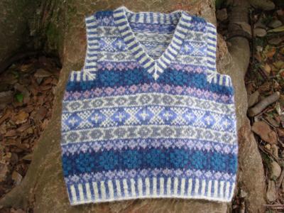 Mishchievous Boy (Blue/Vest)