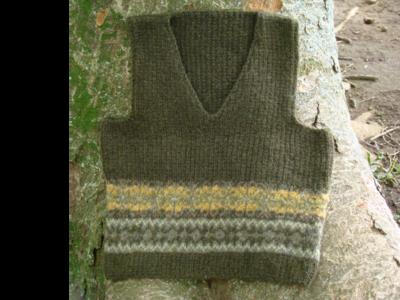 Warm Nature (Green/Vest)