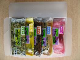 酒田おつけもの(5種)クリアボックス