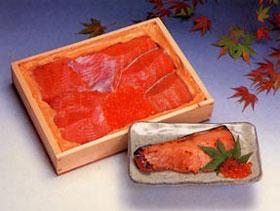 最上川漬(鮭親子粕漬)5切+イクラ30g