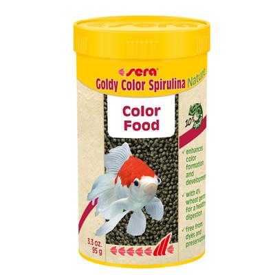 【金魚フード】ゴールディカラースピルリナNature 250ml/95g
