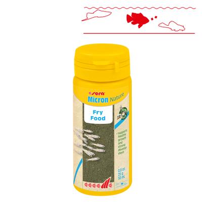 【稚魚用フード】ミクロン Nature 50ml / 25g