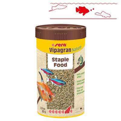 【熱帯魚フード】ビーパグランNature 250ml/80g
