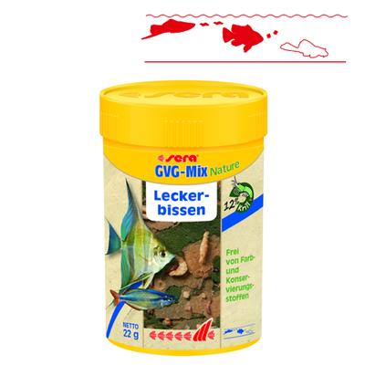 【熱帯魚フード】GVGミックスNature 100ml/22g