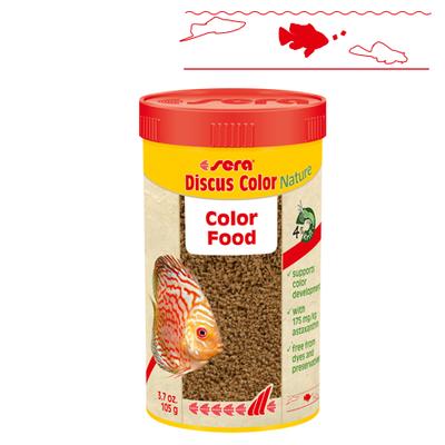 【熱帯魚フード】ディスカスカラーNature 250ml/112g