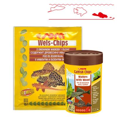 【熱帯魚フード】キャットフィッシュチップス