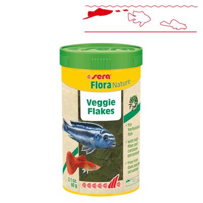 【熱帯魚フード】フローラNature 250ml/60g