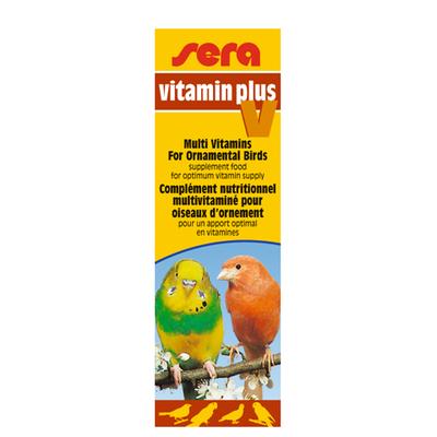 【鳥類の飼育用品】ビタミンプラスV 15ml