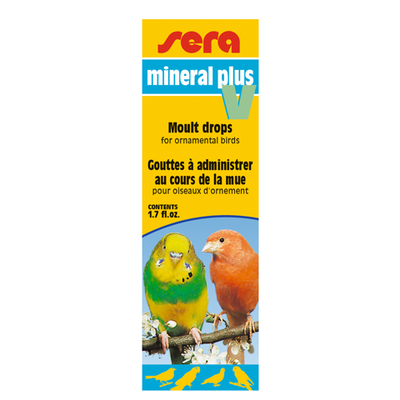 【鳥類の飼育用品】ミネラルプラスV 50ml