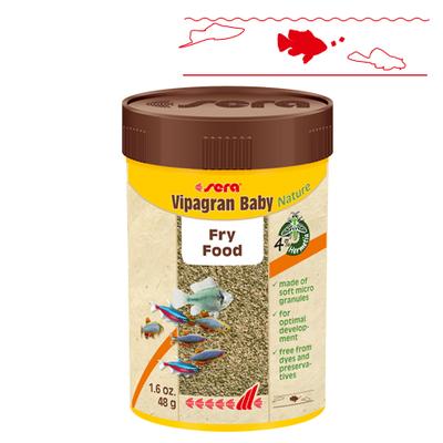 【稚魚用フード】ビーパグランベビーNature 100ml/48g