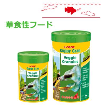 【熱帯魚フード】グッピーグラン
