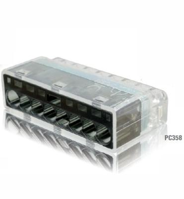冨士端子工業 VFコネクタ(電線差込型) 2点接点タイプ 差込線数8PC358 20個入
