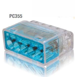 冨士端子工業 VFコネクタ(電線差込型) 2点接点タイプ 差込線数5 PC355 35個入