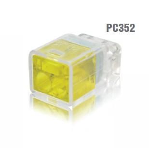 冨士端子工業 VFコネクタ(電線差込型) 2点接点タイプ 差込線数2 PC352 60個入