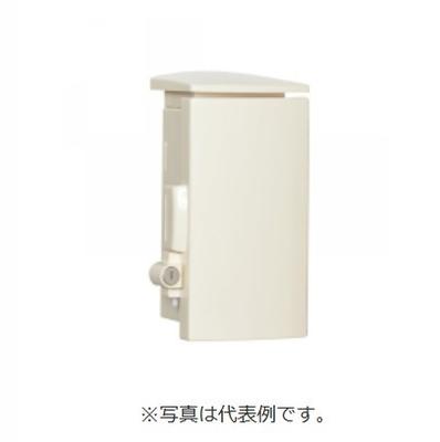 河村電器 シリンダーキー付プラボックス SPNOK2525-12 屋外用/木製基板/キー付 クリーム クリーム