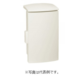 河村電器 プラボックス SPNO2515-16 (プラスチック製/屋外用/木製基板) クリーム