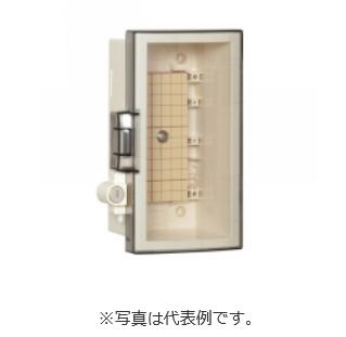 河村電器 シリンダーキー付プラボックス SPNK2525-12T 屋内・屋外兼用/木製基板/キー付