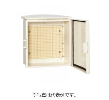 河村電器 電話端子収納プラボックス BTO-20 (プラスチック製/屋外用/木製基板)クリーム