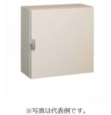 河村電器産業 CGK6060-25K コントロールキャビネット 屋内用 露出形/鉄製基板/ラッチ錠(キー付) クリーム