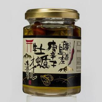 広島県産牡蠣 唐辛子オイル漬け 110g