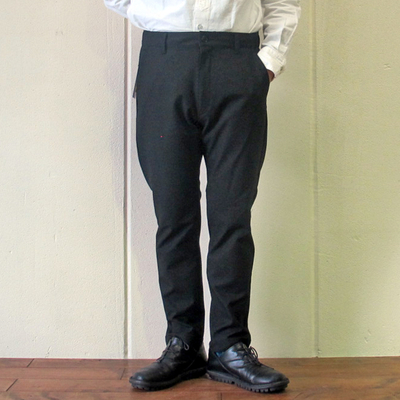 (men's) KAFIKA/カフィカ THERMOLITE LOUNGE TROUSERS black (mbt010)