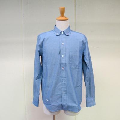 (men's) カラフルホールシャツ blue (mshi008)