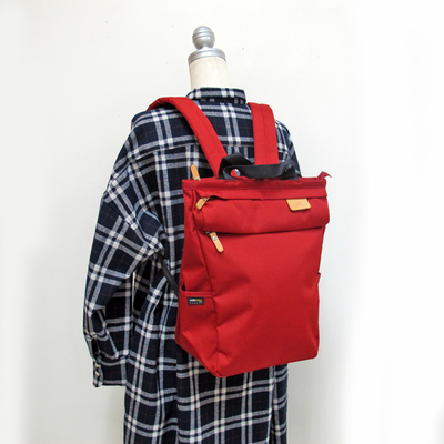 (lady's) Heart Made Factory リセスタイルリュック red (Lkom004)