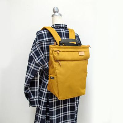 (lady's) Heart Made Factory リセスタイルリュック mustard (Lkom005)