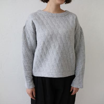 YARRA/ヤラ コズミックキルトプルオーバー gray (Lct033)