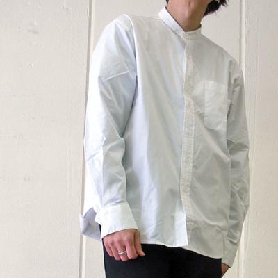 s&nd/セカンド タイプライターちょいゆるシャツ white (mshi032)
