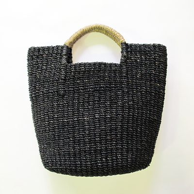 Odds/オッズ ABACA ハンドルバッグ black (Lkom011) ※送料手数料¥0
