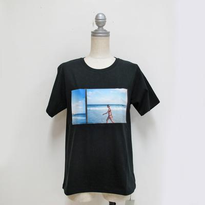Audrey and John Wad/オードリーアンドジョンワッド JAMeenコラボ(beach) Tシャツ black (Lct076) ※送料手数料¥0