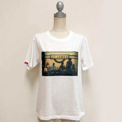 Audrey and John Wad/オードリーアンドジョンワッド JAMeenコラボ(st james) Tシャツ white (Lct079) ※送料手数料¥0