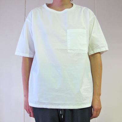 MANUAL ALPHABET/マニュアルアルファベット LOOSE FIT シャツTEE white (mshi043) ※送料手数料¥0