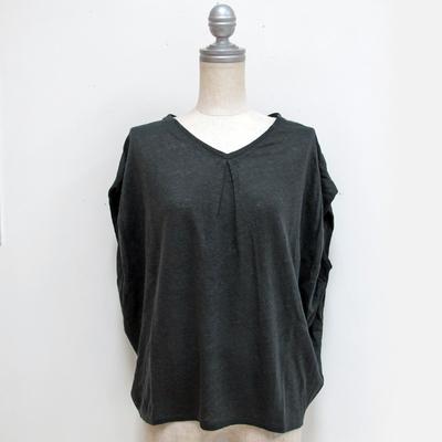 Hunch/ハンチ 肩タックフレンチ袖プルオーバー chacoal (Lct080) ※送料手数料¥0