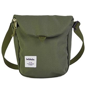 hellolulu / ハロルル ミニショルダーバッグ DESI olive green (Lkom016)
