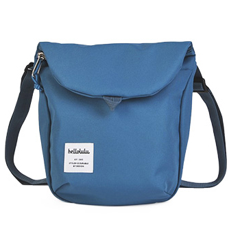 hellolulu / ハロルル ミニショルダーバッグ DESI smoke blue (Lkom017)