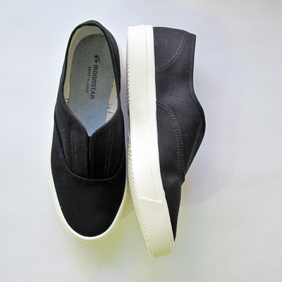 (lady's) moonSTAR / ムーンスターSKOOLER KACKS black (Lsho024)