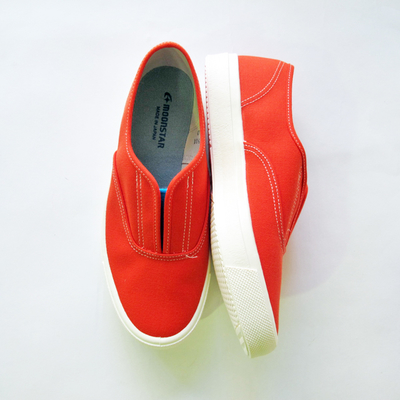 (lady's) moonSTAR / ムーンスター SKOOLER KACKS orange blue (Lsho025)