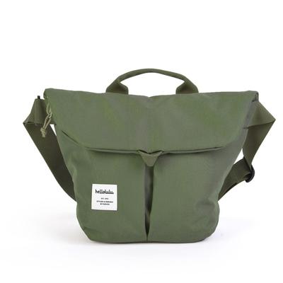 hellolulu / ハロルル ショルダーバッグ KASEN olive green (Lkom024)
