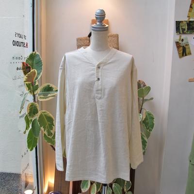 (lady's) khakito / カーキト スリーピングシャツ ivory (Lshi059)