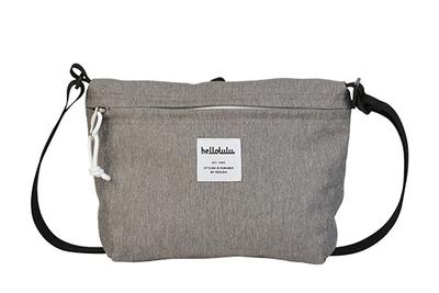 hellolulu / ハロルル ショルダーバッグ CANA dark gray (Lkom025)