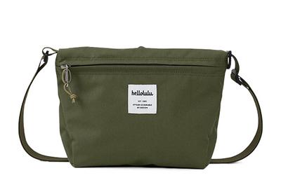 hellolulu / ハロルル ショルダーバッグ CANA olive green (Lkom030)