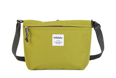 hellolulu / ハロルル ショルダーバッグ CANA lime green (Lkom031)