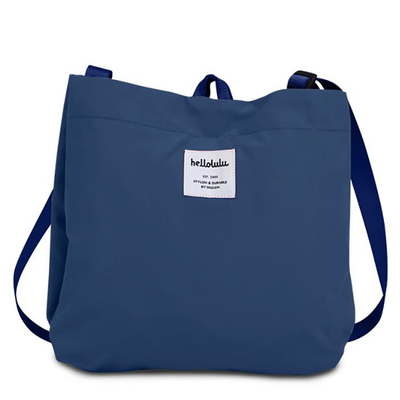 hellolulu / ハロルル コンパクトショルダーバッグ EILISH blue lagoon (Lkom046)