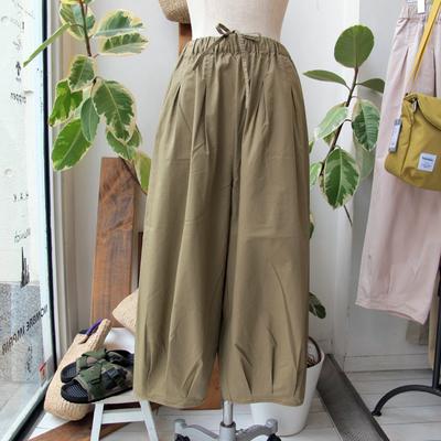 (lady's) Hunch / ハンチ サーカスパンツ beige (Lbt046)
